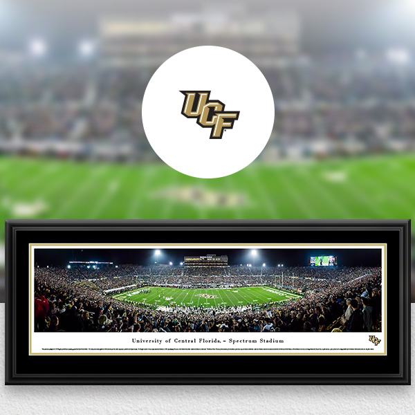 UCF Knights Panoramic Posters and Fan Cave Decor
