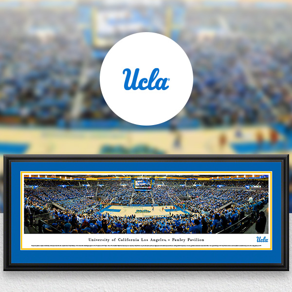 UCLA Bruins Panoramic Posters and Fan Cave Decor