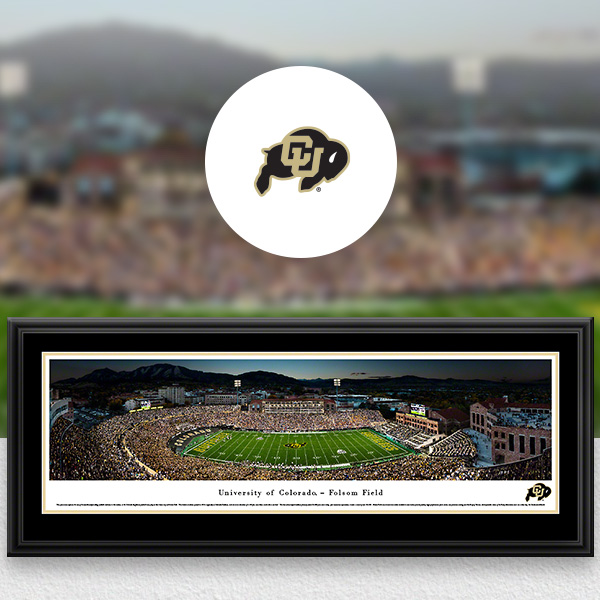 Colorado Buffaloes Panoramic Posters and Fan Cave Decor