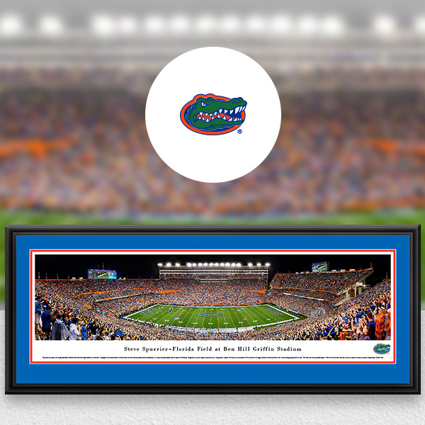 Florida Gators Panoramic Posters and Fan Cave Decor