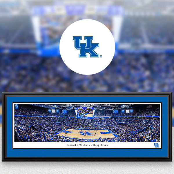 Kentucky Wildcats Panoramic Posters and Fan Cave Decor