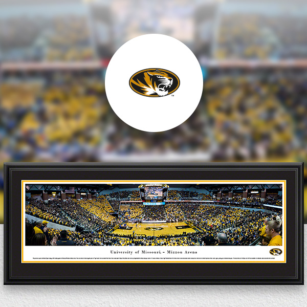 Mizzou Tigers Panoramic Posters and Fan Cave Decor