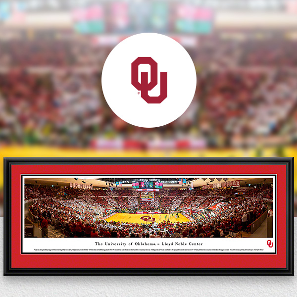 Oklahoma Sooners Panoramic Posters and Fan Cave Decor