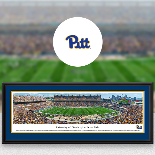 Pittsburgh Panthers Panoramic Posters and Fan Cave Decor
