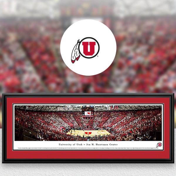 Utah Utes Panoramic Posters and Fan Cave Decor