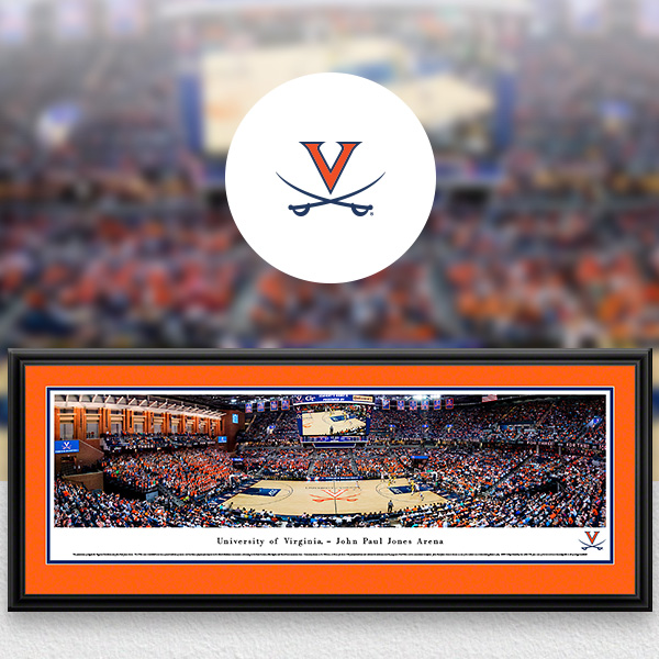 Virginia Cavaliers Panoramic Posters and Fan Cave Decor