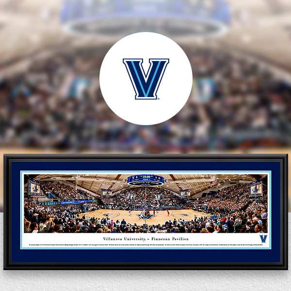 Villanova Wildcats Panoramic Posters and Fan Cave Decor