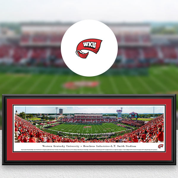 WKU Hilltoppers Panoramic Posters and Fan Cave Decor