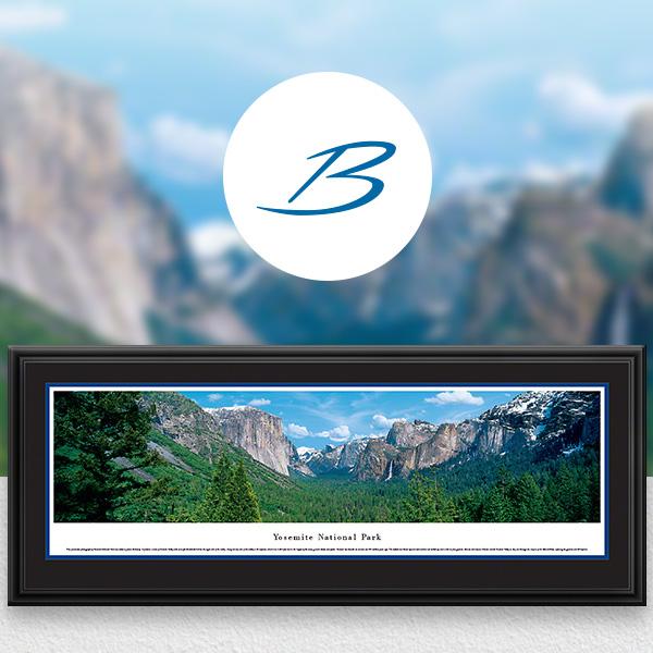 Yosemite National Park Scenic Landscape Panoramic Wall Art