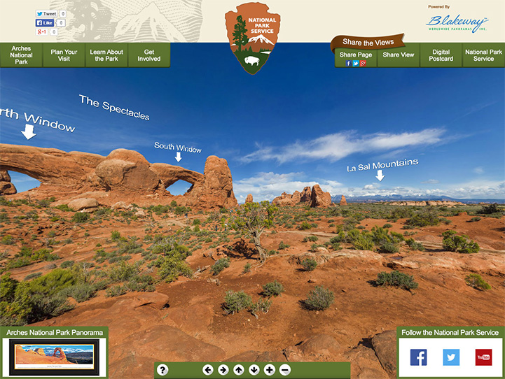 Arches National Park 360° Gigapixel Photo