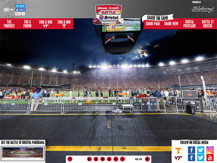 2016 Battle at Bristol 360° Gigapixel Fan Photo