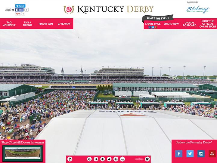 Kentucky Derby 360° Gigapixel Fan Photo