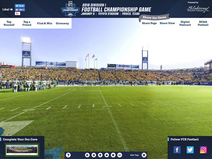 2018 FCS Championship 360° Gigapixel Fan Photo