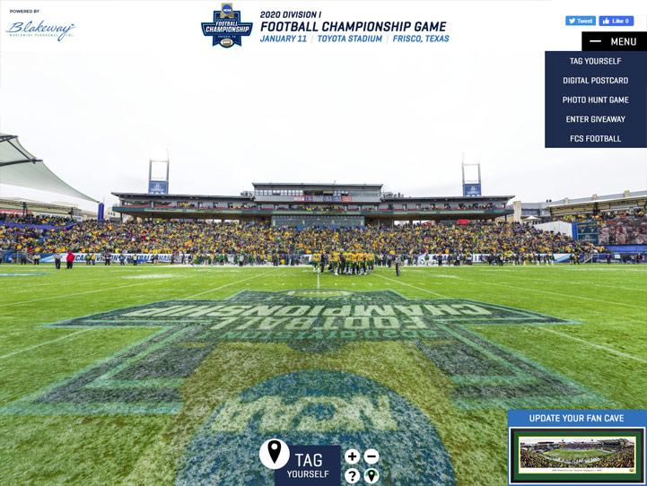 2020 NCAA FCS Football Championship 360 Gigapixel Fan Photo