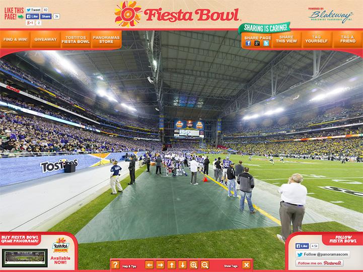 2013 Fiesta Bowl 360° Gigapixel Fan Photo