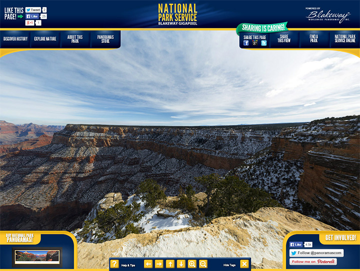 Grand Canyon National Park 360° Gigapixel Photo