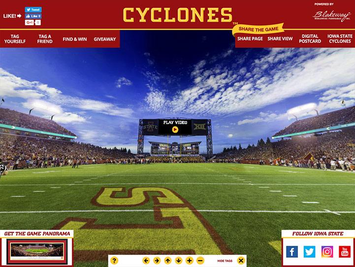Iowa State Cyclones 360 Gigapixel Fan Photo