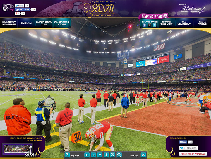 Baltimore Ravens 360° Gigapixel Fan Photo