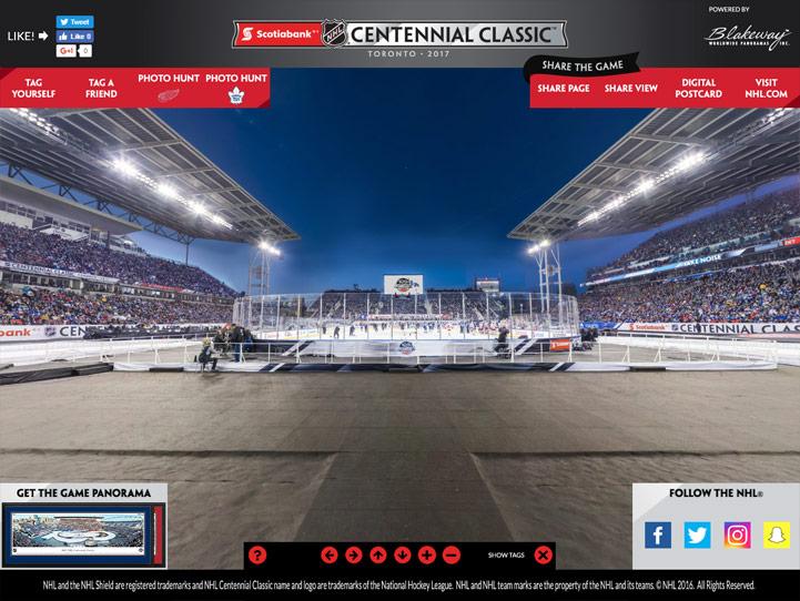 NHL Centennial Classic 360° Gigapixel Fan Photo