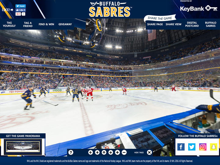 Buffalo Sabres 360° Gigapixel Fan Photo