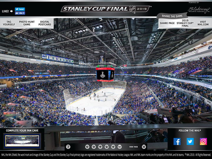 2019 Stanley Cup Game 6 360° Gigapixel Fan Photo
