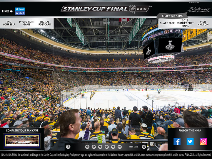 2019 NHL Stanley Cup Game 7 360° Gigapixel Fan Photo
