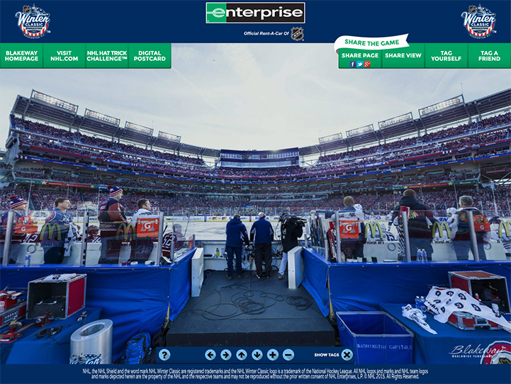 2015 NHL Winter Classic 360° Gigapixel Fan Photo