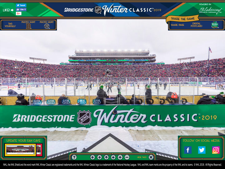 2019 NHL Winter Classic 360° Gigapixel Fan Photo