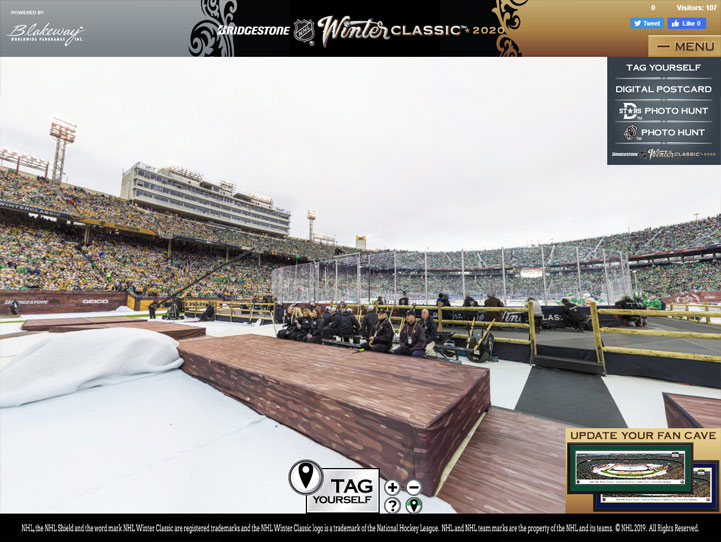 2020 NHL Winter Classic 360° Gigapixel Fan Photo