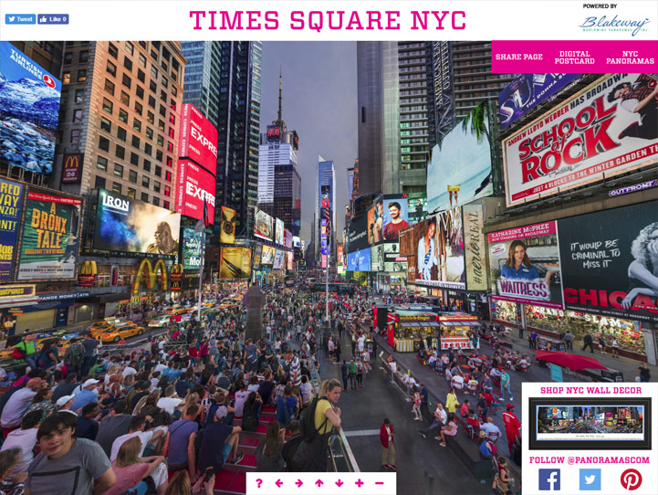 New York Times Square 360° Gigapixel Fan Photo