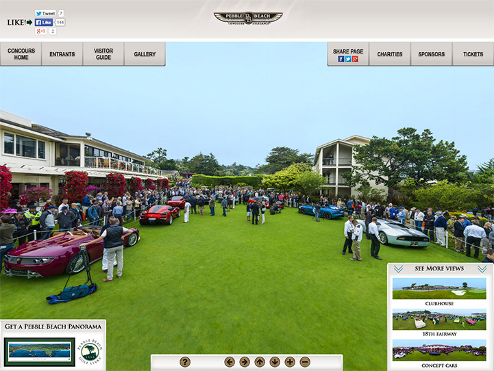 Concours d'Elegance 360° Gigapixel Photo