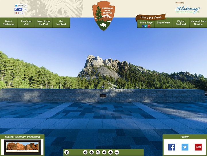 Mount Rushmore 360° Gigapixel Photo