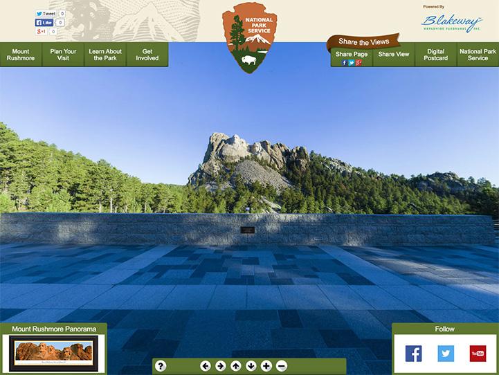 Mount Rushmore 360° Gigapixel Photo