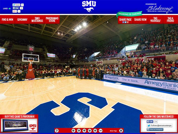 SMU Mustangs 360° Gigapixel Fan Photo