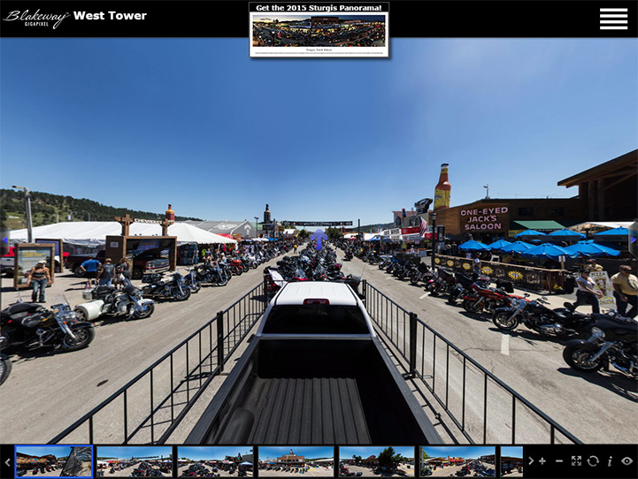 Sturgis Motorcycle Rally 360° Gigapixel Photo