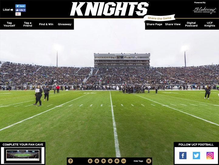 UCF Knights 360° Gigapixel Fan Photo