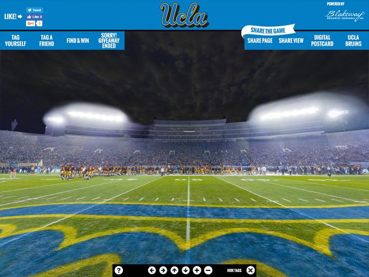 UCLA Bruins 360° Gigapixel Fan Photo