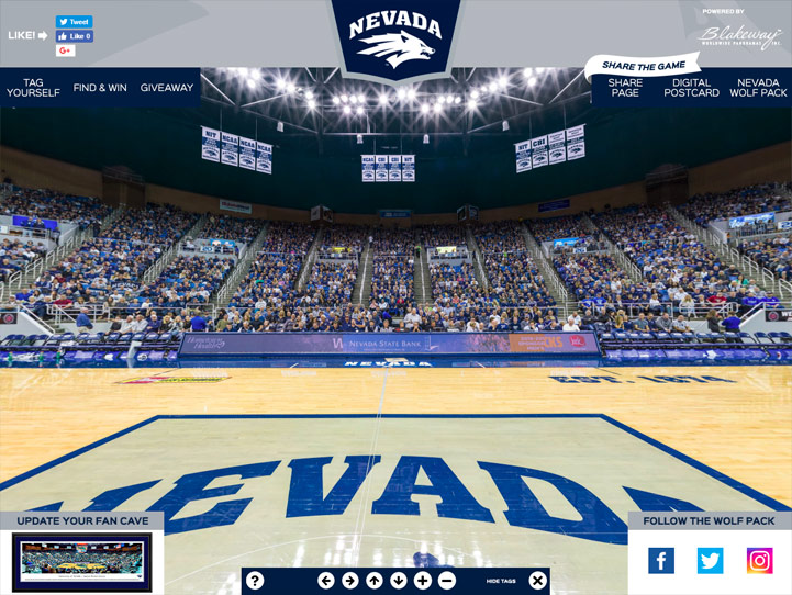 Nevada Wolf Pack 360 Gigapixel Fan Photo