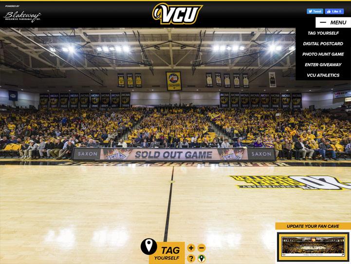 VCU Rams 360° Gigapixel Fan Photo