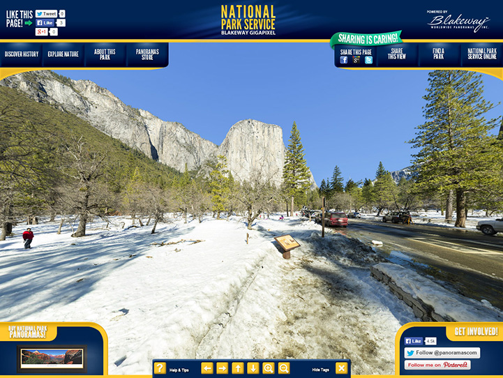 Yosemite National Park 360° Gigapixel Photo
