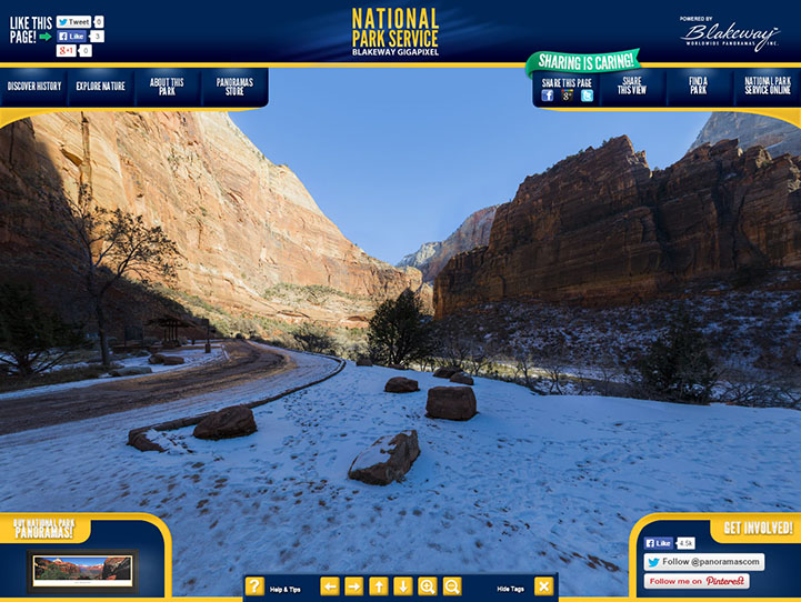 Zion National Park 360° Gigapixel Photo