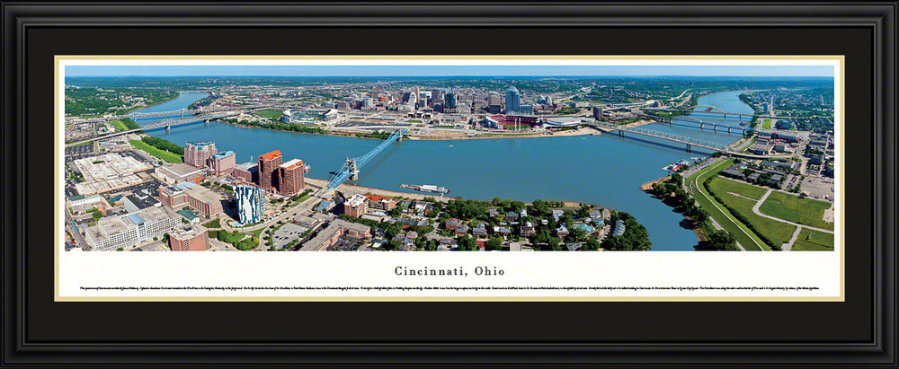 Cincinnati Ohio Skyline Panorama