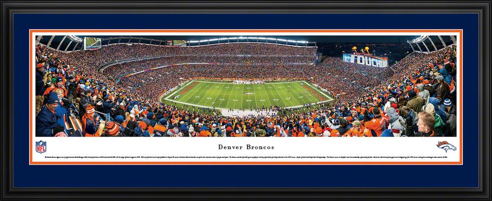 Mile High Stadium Picture Denver Broncos Panoramic