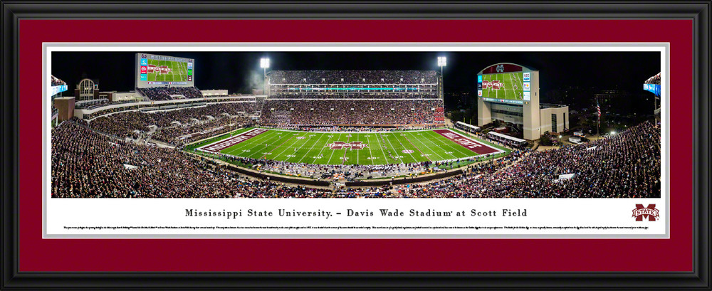 Blakeway Panoramas  College Sports Posters Mississippi State Basketball