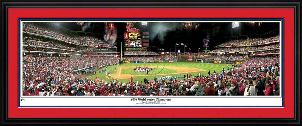 Philadelphia Phillies Panorama 2008 World Series Poster