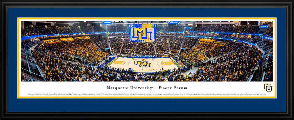 Panoramic Posters and Framed Pictures by Blakeway Panoramas Dayton Flyers Basketball
