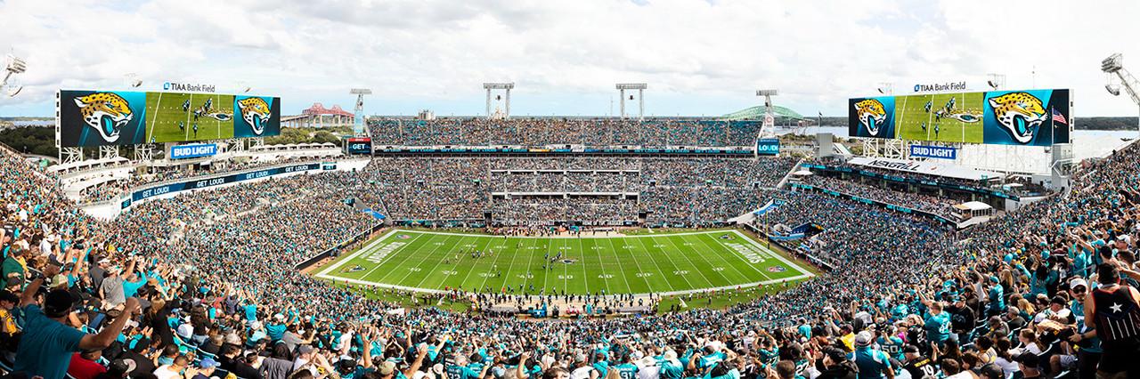 Jacksonville Jaguars Panoramic Picture - TIAA Bank Field