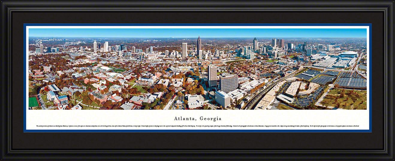 Atlanta, Georgia Panoramic Skyline Picture