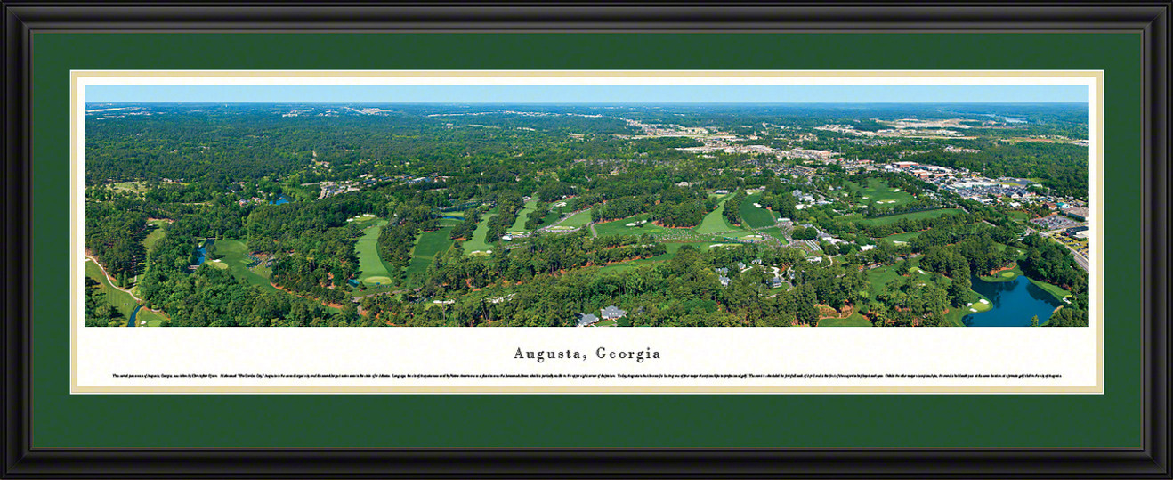 Augusta, Georgia Panoramic Skyline Picture