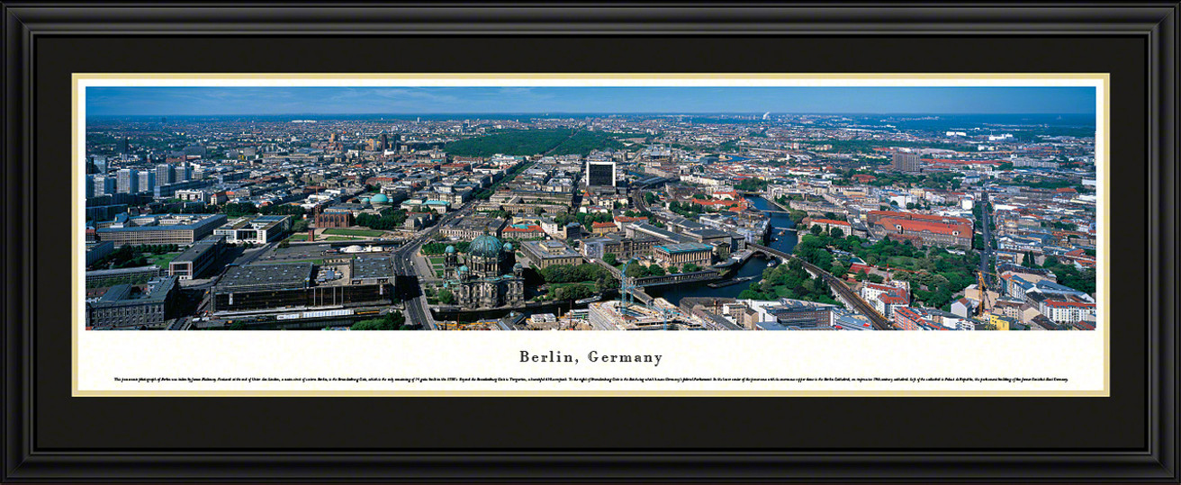 Berlin, Germany City Skyline Panorama